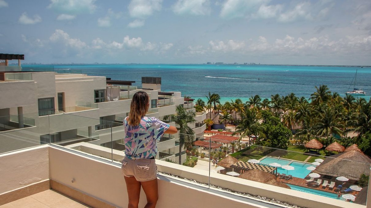 Room's view privilege aluxes hotel isla mujeres